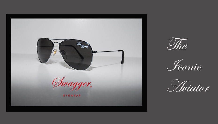 Swagger Aviator Sunglasses